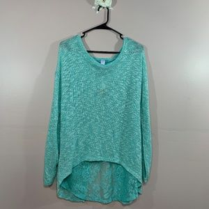 Teal Blue Tunic - LARGE   126
